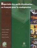 Jacinthe Savard - Répertoire des outils d'évaluation en français pour la réadaptation.