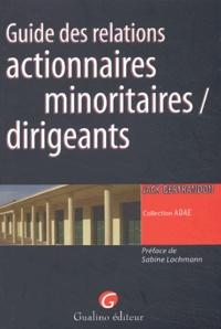 Goodtastepolice.fr Guide des relations actionnaires minoritaires / dirigeants Image