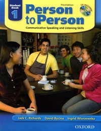 Jack-C Richards et David Bycina - Person to Person Student Book 1 - Communicative Speaking and Listening Skills. 1 CD audio