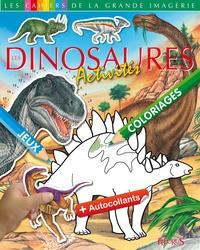 Jack Delaroche - Les Dinosaures - Activités + autocollants.