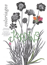 Jack Garnier - Jardins - Coloriages.