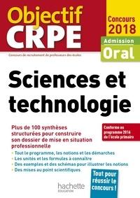 Jack Guichard - CRPE en fiches : Sciences et technologie 2018.