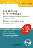 Jack Guichard et Olivier Burger - Les sciences et la technologie composante majeure au concours de professeur des écoles, l'histoire et la géographie composante mineure.