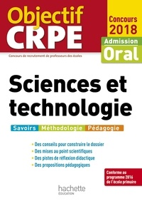 Jack Guichard - Objectif CRPE Sciences et technologie 2018.