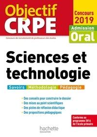 Jack Guichard et Marc Antoine - Objectif CRPE Sciences et technologie 2019.
