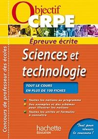 Jack Guichard et Marc Antoine - Sciences et technologie - Epreuve écrite.