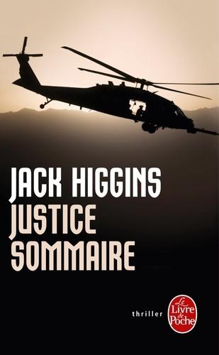 Jack Higgins - Justice sommaire.