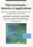 Jack Hirshleifer et Amihai Glazer - Microéconomie : théories et applications - Décisions, marchés, formation des prix et répartition des revenus.