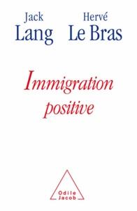 Jack Lang et Hervé LeBras - Immigration positive.