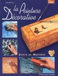 Jackie Bienvenu - La peinture décorative - Effets de matières.