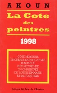 La cote des peintres - Edition 1998.pdf