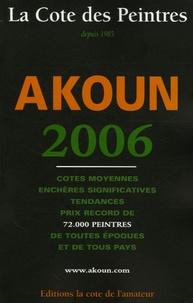 Jacky-Armand Akoun et Jacky Akoun - La cote des peintres.