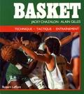 Jacky Chazalon et Alain Gilles - Basket.