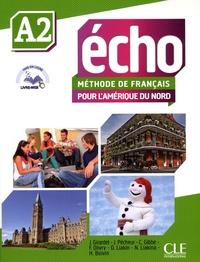 Jacky Girardet et Jacques Pécheur - Echo A2 - Méthode de français pour l'Amérique du Nord. 1 DVD