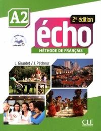 Jacky Girardet et Jacques Pécheur - Echo A2 - Méthode de français. 1 DVD