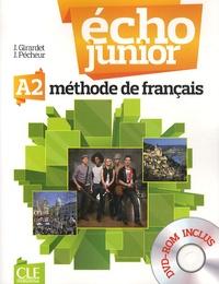 Jacky Girardet et Jacques Pécheur - Echo Junior A2 - Méthode de français. 1 DVD