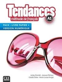 Jacky Girardet et Jacques Pécheur - Tendances A1 - Méthode de français livre papier + version numérique.