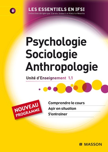 Jacky Merkling et Solange Langenfeld - Psychologie, Sociologie, Anthropologie - Unité d'Enseignement 1.1.