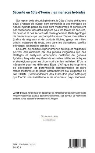 Sécurité en Côte d'Ivoire : les menaces hybrides