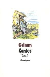 Jacob Grimm - Contes de Grimm - Tome 3.