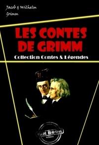Jacob Grimm et Wilhelm Grimm - Les contes de Grimm : L'intégral – avec des illust. originales de Walter Crane, Arthur Rackham et Henry Altemus [nouv. éd. entièrement revue et corrigée]..