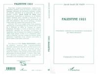 Jacob Israël de Haan - Palestine 1921.