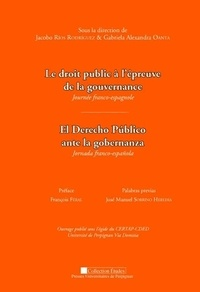 Ledroitpublicàl'épreuvedelagouvernance- Journée franco-espagnole - Jacobo Rios Rodriguez |