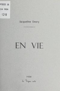 Jacqueline Émery - En vie.