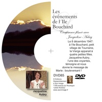 Jacqueline Aubry - LES ÉVÉNEMENTS DE L´ILE BOUCHARD - DVD CONFÉRENCE FILMÉE.