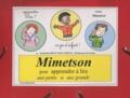 Jacqueline Belin Mouveroux - Mimetson pour apprendre à lire aux petits et aux grands - Méthode.