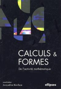 Calculs et formes- De l'activité mathématique - Jacqueline Boniface | Showmesound.org