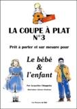 Jacqueline Chiappetta - La coupe à plat N° 3 - Prêt-à-porter sur mesure pour le bébé & l'enfant.