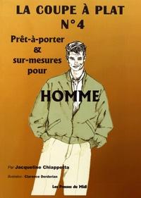 Jacqueline Chiappetta - La coupe à plat N° 4 - Prêt-à-porter et sur-mesures pour homme.