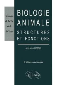 Rhonealpesinfo.fr BIOLOGIE ANIMALE. Structures et fonctions, 2ème édition Image