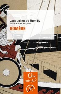 Jacqueline de Romilly - Homère.