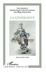 Jacqueline Deguise-Le Roy et Eric Letonturier - La générosité.