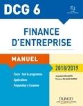 Jacqueline Delahaye et Florence Delahaye-Duprat - DCG 6 - Finance d'entreprise - 7e éd. - Manuel.