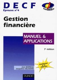 Histoiresdenlire.be DECF épreuve n° 4 Gestion financière - Manuel et applications Image