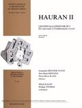 Jacqueline Dentzer-Feydy et Jean-Marie Dentzer - Hauran II - Les installations de Si 8 : du sanctuaire à l'établissement viticole Volume 2, Planches.