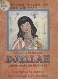 Jacqueline Deschamps et  Charvi - Djellah, jeune arabe du Moghreb.