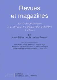 Jacqueline Gascuel et Annie Béthery - .