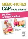Jacqueline Gassier - CAP Petite enfance, matières professionnelles.