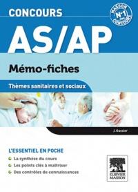 Jacqueline Gassier - Concours AS/AP - Thèmes sanitaires et sociaux.