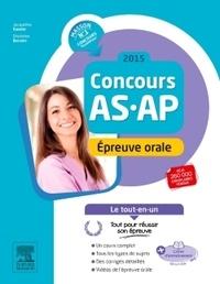 Jacqueline Gassier et Ghyslaine Benoist - Concours AS/AP - Epreuve orale.