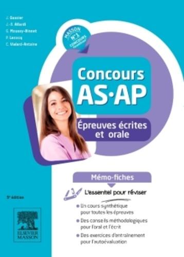 Jacqueline Gassier et Jean-Bernard Allardi - Concours AS-AP - Mémo-fiches Epreuves écrites et orale.