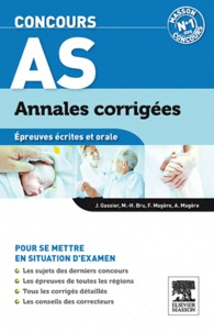 Jacqueline Gassier - Concours AS - Epreuves écrites et orale.