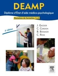 Jacqueline Gassier et Corine Cordon - DEAMP Diplôme d'Etat d'aide médico-psychologique - Domaines de formation 1 à 6.