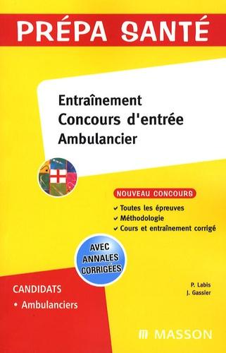 Jacqueline Gassier et Patrick Labis - Entraînement Concours d'entrée Ambulancier.