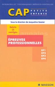 Epreuves professionnelles CAP petite enfance - Sujets et corrigés.pdf