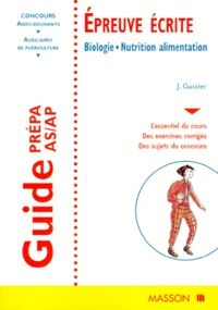 GUIDE PREPA AS/AP EPREUVE ECRITE. - Biologie, Nutrition alimentation, 5ème édition.pdf